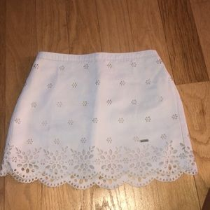 Abercrombie Girls Flowered Skirt NWOT
